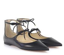 Ballerinas Sage Flat Leder