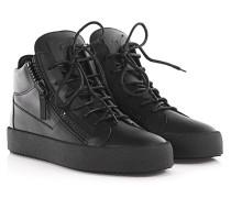 Sneakers High May London Leder