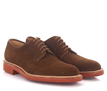 Derby Lamont 2 Veloursleder brown Goodyear Welted