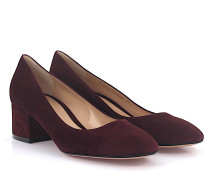 Pumps G21171 Veloursleder bordeaux
