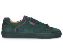 Sneaker low + Snapback Cap FAMILIA Veloursleder