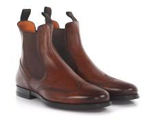 Chelsea Boots Budapester 13510 Leder
