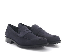 Loafer D00640 Veloursleder
