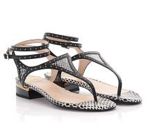 Sandalen Schlangenleder