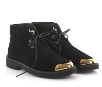 Boots LOOK Veloursleder