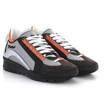 Sneaker 551 Leder grau Hightech-Jersey