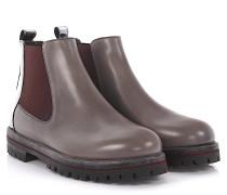 AGL Stiefeletten Boots Leder silber