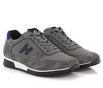 Sneakers H198 Leder Veloursleder