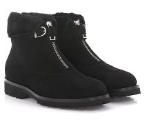 Stiefeletten Boots 1978 Veloursleder Lammfell