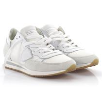 Sneaker Tropez Low Leder Veloursleder Nylon
