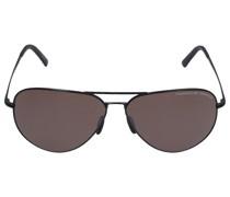 Sonnenbrille P8508 V 64/12 Metall schwarz