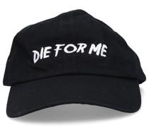 Snapback cap DIE FOR ME Baumwolle Stickerei