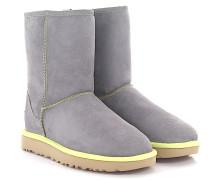 Stiefeletten Boots Classic Short 2 Neon Veloursleder Lammfell