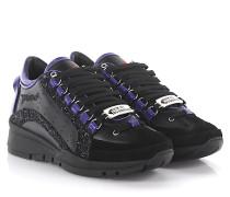 2 Sneakers 551 Nappa Leder glitzer