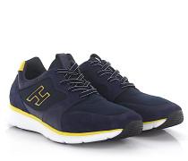 Sneakers H254 Leder Veloursleder textil