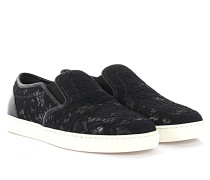 Sneakers Slip On London Leder Spitze