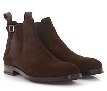Chelsea Boots 56507 Veloursleder
