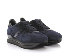 Sneaker H222 Nuovo Sportivo Veloursleder Lackleder