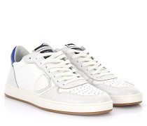 Sneaker Lakers Low U Leder weiss finished