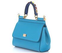 Handtasche Schultertasche Sicily S Leder Perlen