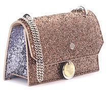 Handtasche Schultertasche Finlay bronze Glitzer