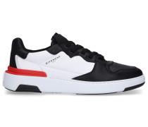 Sneaker high BASKET WING Kalbsleder Logo