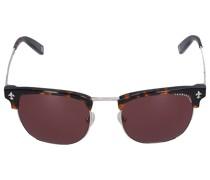 Sonnenbrille D-Frame 048100 Metall Schildkröte silber