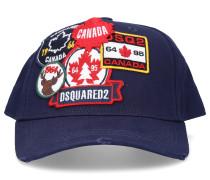 Snapback Cap PATCH CARGO Gabardine Logo Stickerei