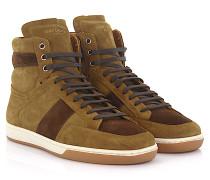 Sneaker High SL10H Veloursleder braun