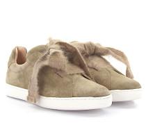 Sneaker 8015 Veloursleder