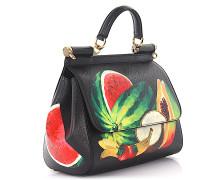 Handtasche Schultertasche SICILY MEDIUM Leder Fruit Print