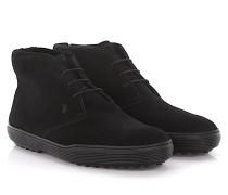 Stiefeletten Boots Polacco Veloursleder Lammfell