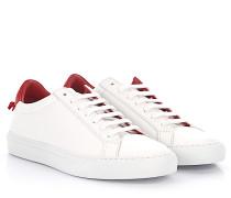 Sneaker Bas Noeud Low Leder Weiss