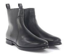 Stiefeletten Boots 15309 Leder Lammfell