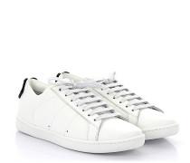 Sneaker Low Signature Leder weiss