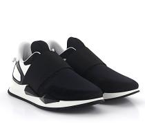 Slip-On Sneaker RUNNER ELASTIQUE Veloursleder schwarz