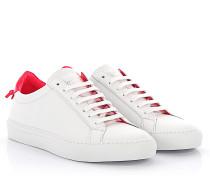 Sneaker BE082 Leder weiß Lackleder