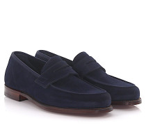 Penny Loafer Richmond 2 Veloursleder Goodyear Welted