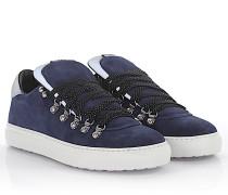 2 Sneakers Alfredo Veloursleder Nylon grau