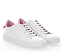 Sneaker URBAN STREET Leder weiss rosa
