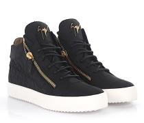Sneaker Daniel High Top Leder Krokodilprägung