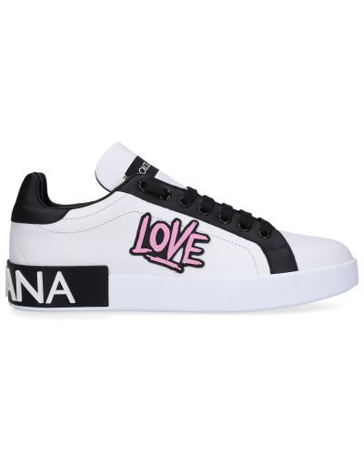 Sneaker low PORTOFINO Kalbsleder Nappaleder Patch