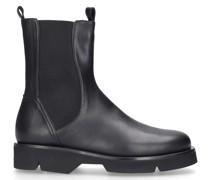 Chelsea Boots 1289 Glattleder schwarz