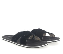 Sandalen BEACH SLIDE Veloursleder