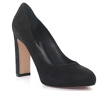 Pumps GO2101 Plateau Veloursleder