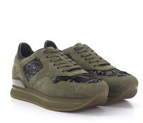 Sneaker H222 Veloursleder