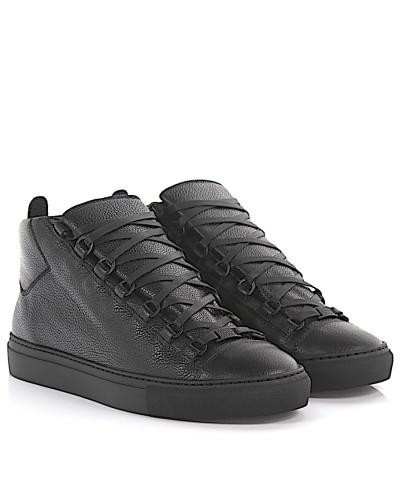 balenciaga herren balenciaga high top sneaker pelle leder. Black Bedroom Furniture Sets. Home Design Ideas