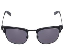 Sonnenbrille D-Frame 254106 Metall Acetat schwarz