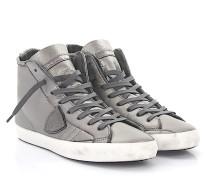 Sneaker high Kalbsleder Logo Used