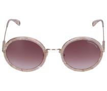 Sonnenbrille Round 194154 Acetat rosé